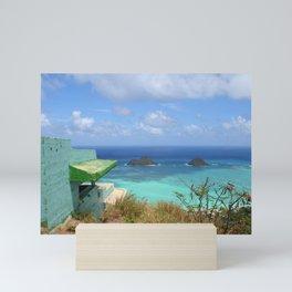 LANIKAI PILLBOX VIEW 2 Mini Art Print