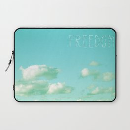 Freedom over Clouds Laptop Sleeve