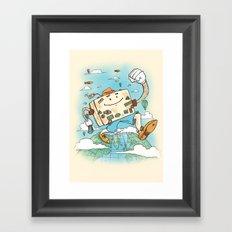 Mr Globetrotter Framed Art Print