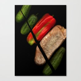 Chopped Salad Canvas Print
