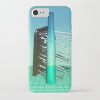 fries iPhone & iPod Cases featuring Fries by AsoMohammadi