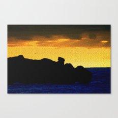 Granite Island Canvas Print