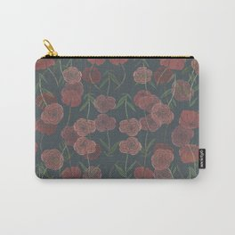 CONTINUOUS FLORAL Carry-All Pouch