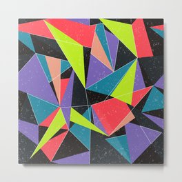 Geometric explosion Metal Print