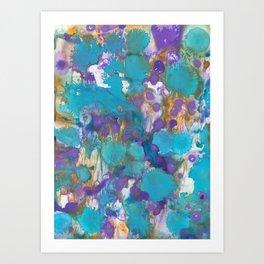 Blue Blossom Art Print