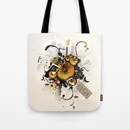 The Music Machine Tote Bag