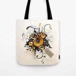The Music Machine Tote Bag