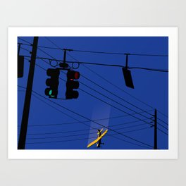 One Afternoon On The Way Home From Work Art Print