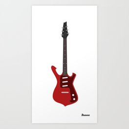 Ibanez Fireman ( FRM100 ) Art Print