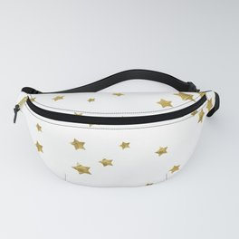 Starry Magic - White Fanny Pack