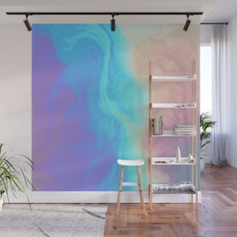 Holograph x Marble Wall Mural