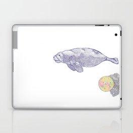 Space Manatee Laptop & iPad Skin