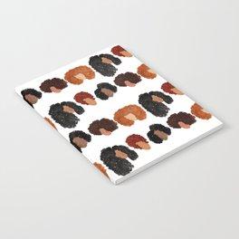 Natural Hair Girls Notebook