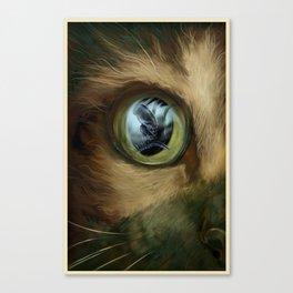 ALIEN (Jonesy) Canvas Print
