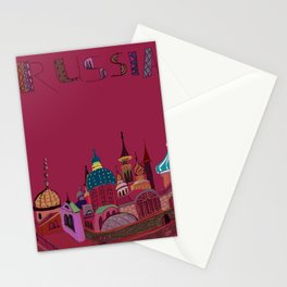 Russia in color Stationery Cards