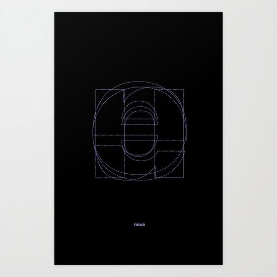 Die Neue Haas Grotesk (B-01) Art Print