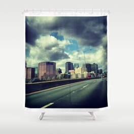 The Beat Shower Curtain