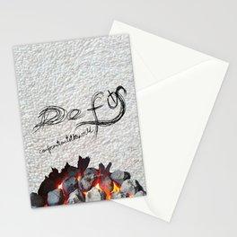 Defy conformationtotheworld Stationery Cards