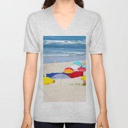 colorful summer Unisex V-Neck