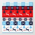 Scandinavian holidays pattern design by walstraasart