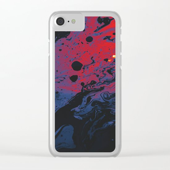 Primordial Clear iPhone Case