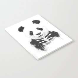Zombie panda Notebook