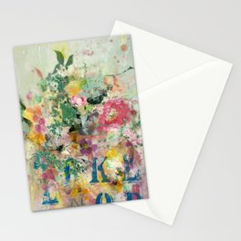 Bright Blossoms Stationery Cards