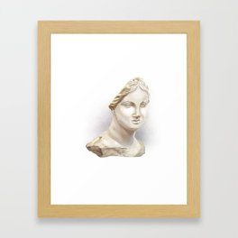 The Chios Head Framed Art Print