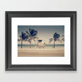 Sunny South Framed Art Print