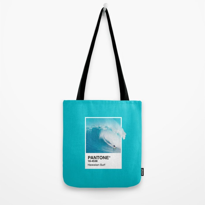 Pantone Series – Hawaiian Surf Tote Bag