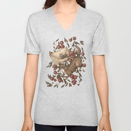Coyote Love Letters Unisex V-Neck