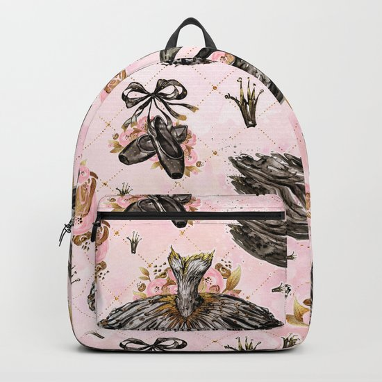 Black swans ballerina #1 Backpack