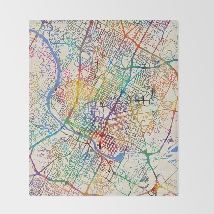 Austin Texas City Map Throw Blanket by artpause on city of ada ok map, city of bowling green ky map, city of santa fe nm map, city of harahan la map, city of los angeles ca map, city of stuart fl map, city of concord nc map, city of grand forks nd map, city of long beach ca map, city of manchester nh map, city of bismarck nd map, city of green bay wi map, city of caldwell id map, city of apache junction az map, city of ann arbor mi map, city of darien ct map, city of battle creek mi map, city of dubois pa map, city street maps austin texas, city of sault ste marie mi map,