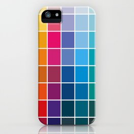 Colorful Soul - All colors together iPhone Case