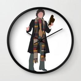 Fourth Doctor: Tom Baker Wall Clock