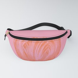 Dutch Tulip Illustration in Pink and Orange Fanny Pack