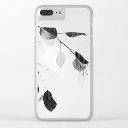 quiet Clear iPhone Case