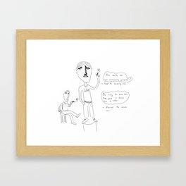 Soulful Conversations Framed Art Print