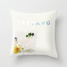 White Night Album - Taeyang Edition Throw Pillow