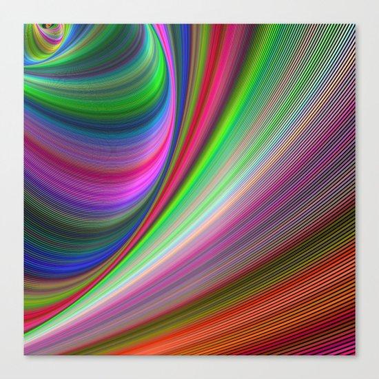 Vivid hypnosis Canvas Print