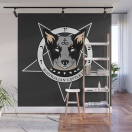 Australian Cattle Dog Wall Mural