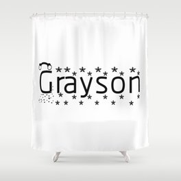 Grayson Shower Curtain