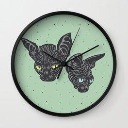 Odessa & Azizi Wall Clock