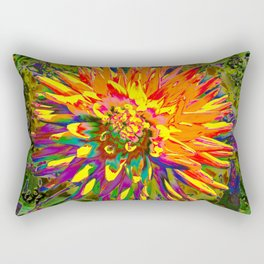 Extreme Dahlia Rectangular Pillow