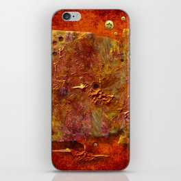 Abstract disc iPhone Skin