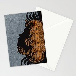 Tribal Dreams by Viviana Gonzalez & Pom Graphic Design Stationery Cards