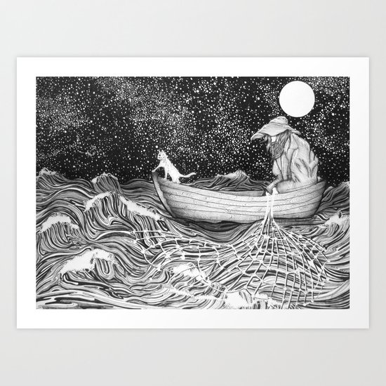 The Fisherman's Companion Art Print