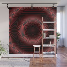 color  dark red silver pattern Wall Mural