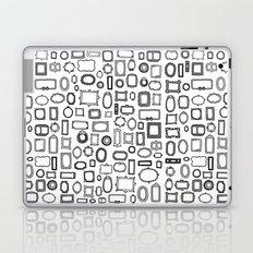 letter N - nailed frames Laptop & iPad Skin
