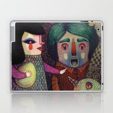 Sing my heart's song or else! Laptop & iPad Skin